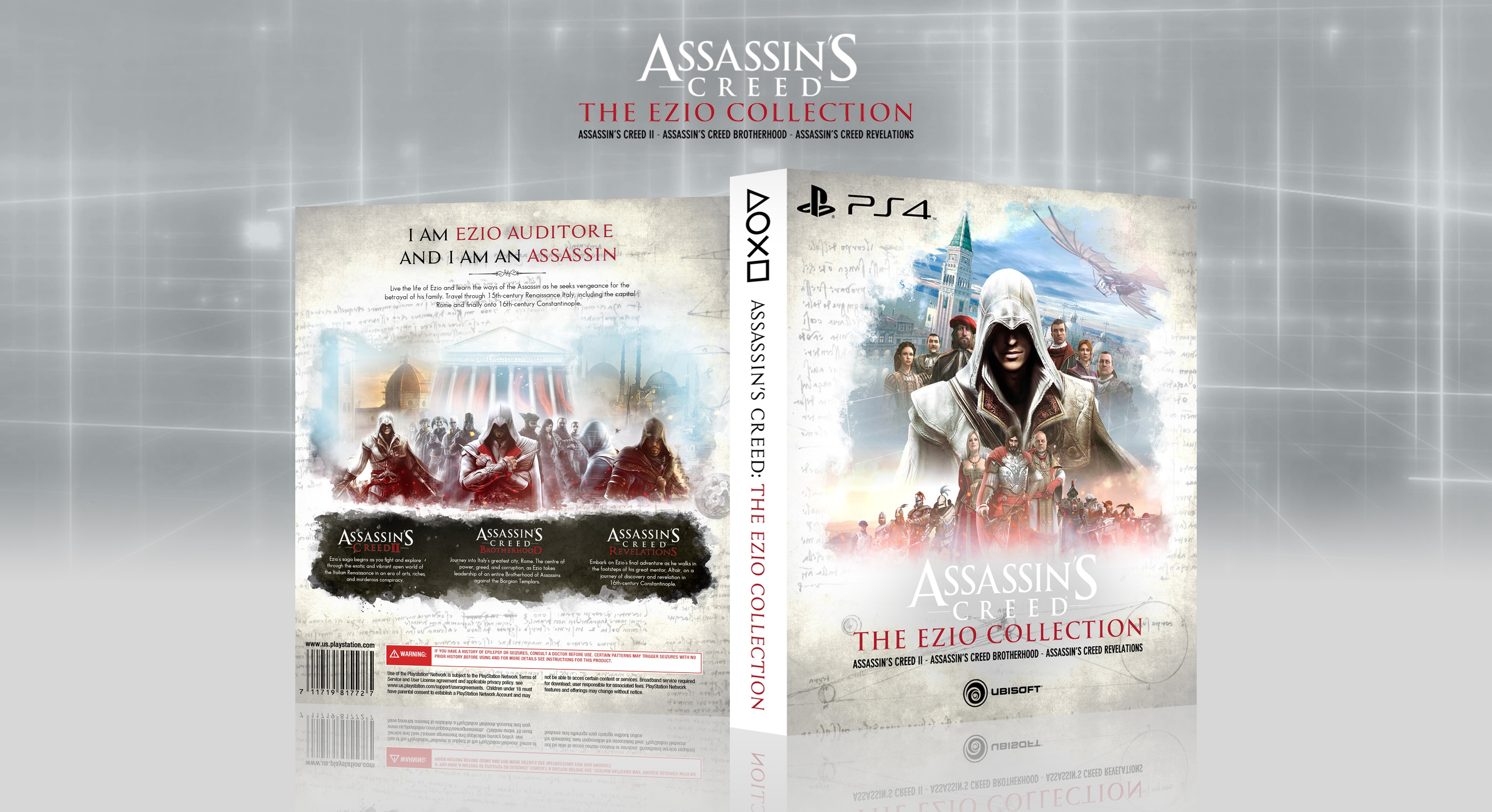 Assassin's Creed: The Ezio Collection box cover