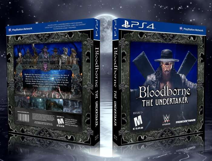 Bloodborne: The Undertaker box art cover