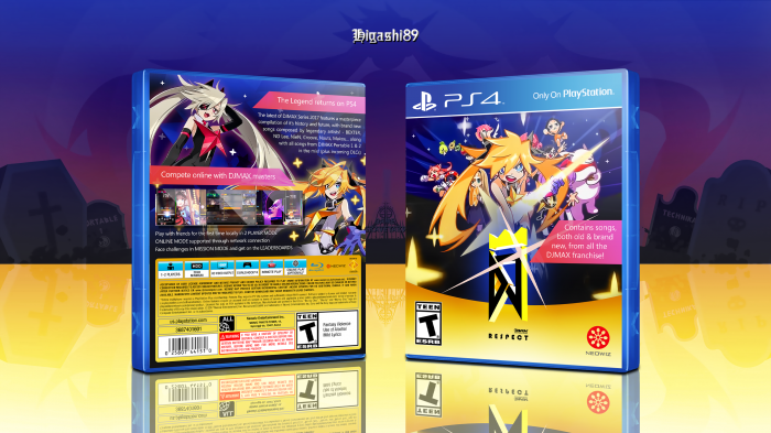 DJMax Respect box art cover