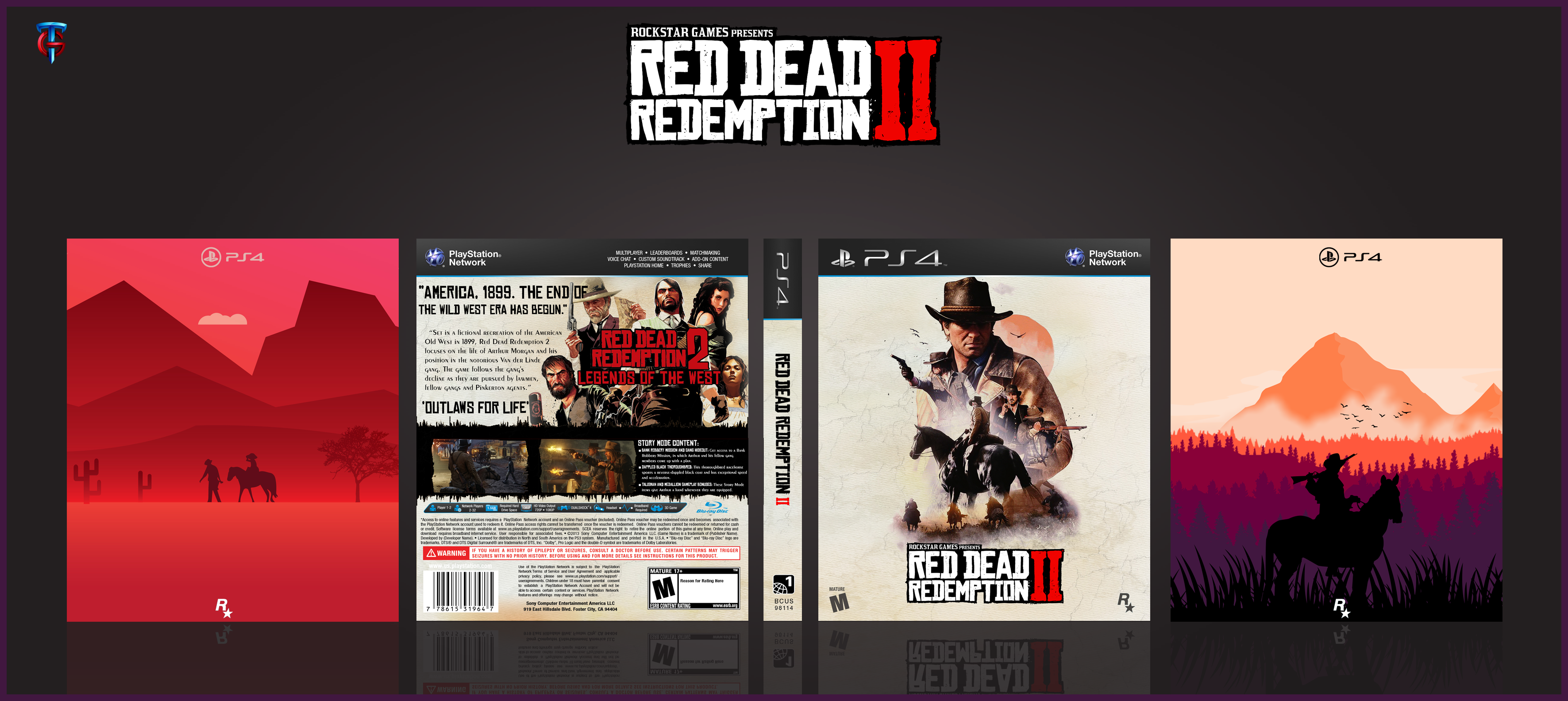 Red Dead Redemption II box cover