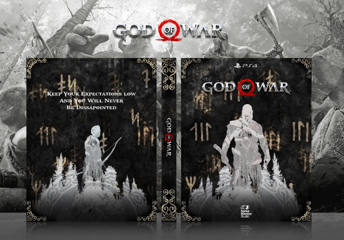 God of War (PS4) box art cover