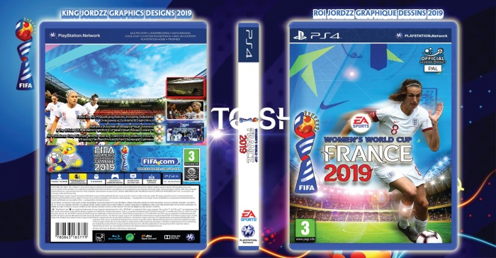 2019 FIFA Women's World Cup box art cover