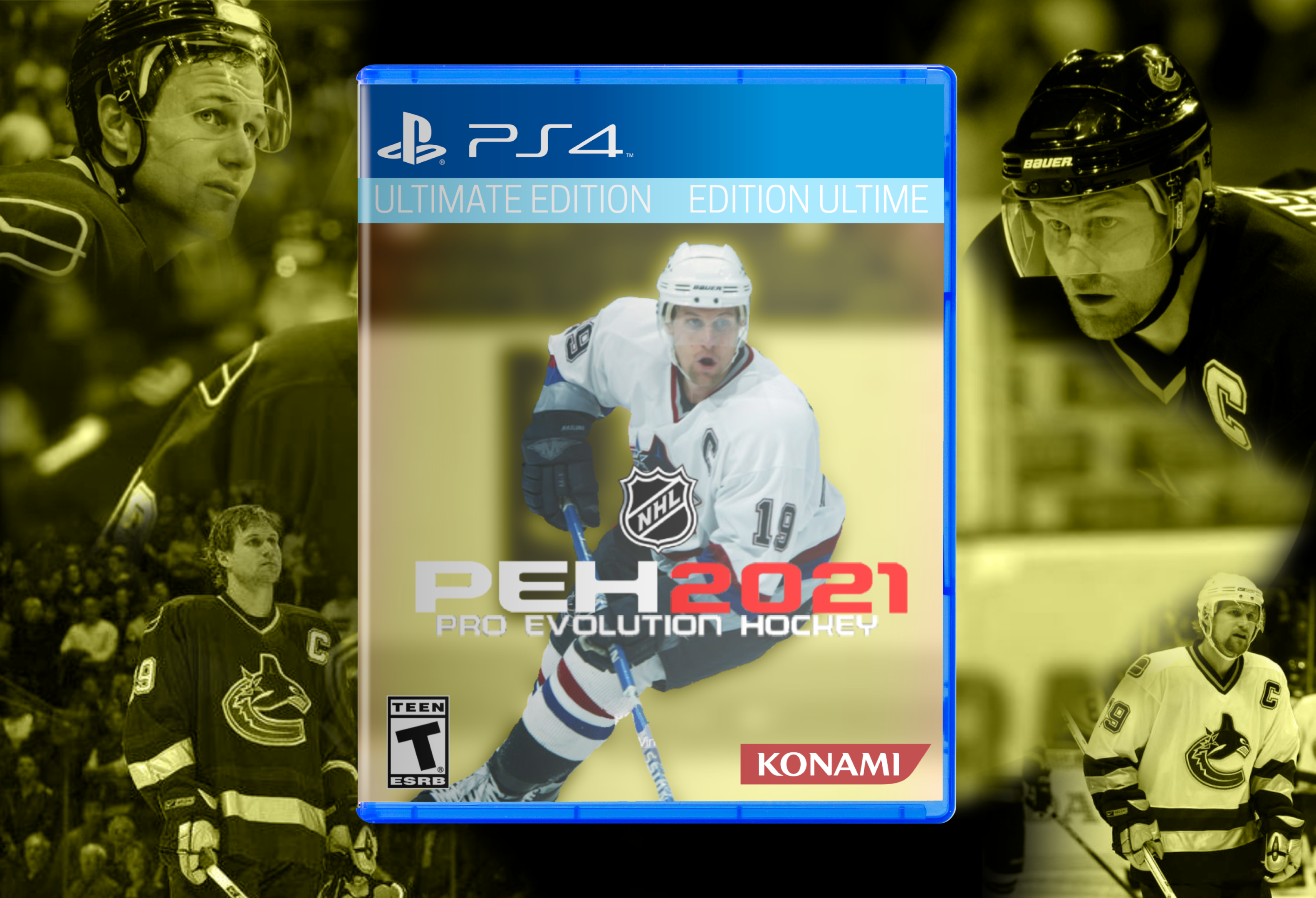 Pro Evolution Hockey 2021 box cover