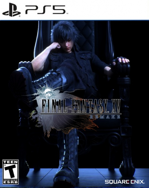 Final Fantasy XV Remake box cover