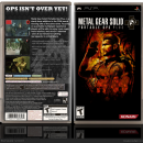 Metal Gear Solid: Portable Ops Plus Box Art Cover