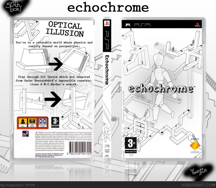 Echochrome box art cover