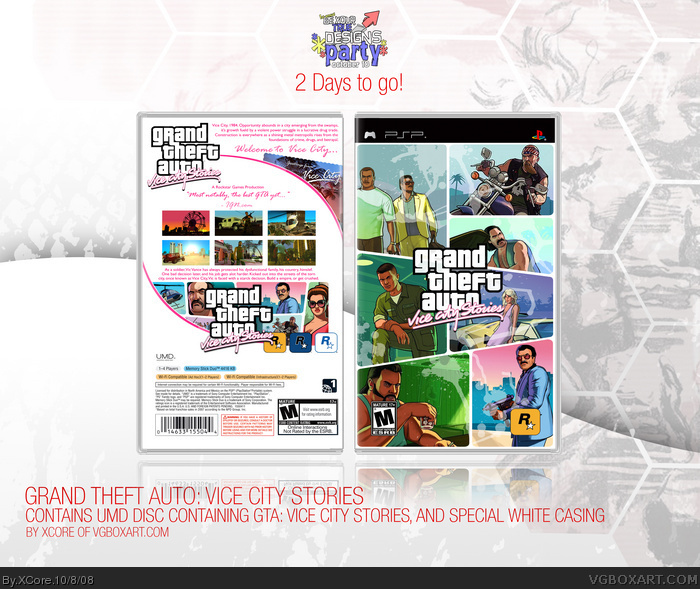 Grand Theft Auto: Vice City Stories box art cover