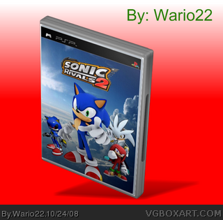 Sonic Rivals 2 box cover