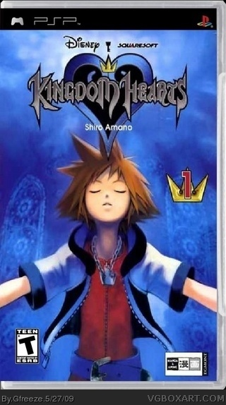 Kingdom Hearts The Manga box cover