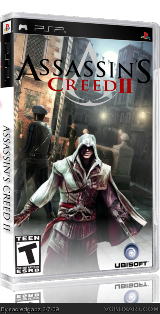 Assassin's Creed 2 box cover