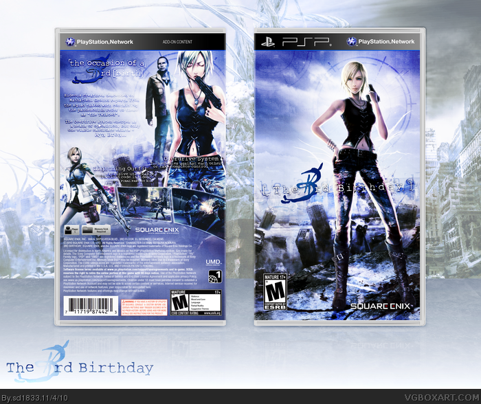 The 3rd Birthday box art cover