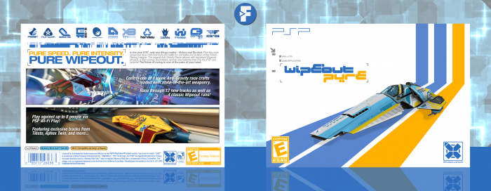 Wipeout Pure box art cover