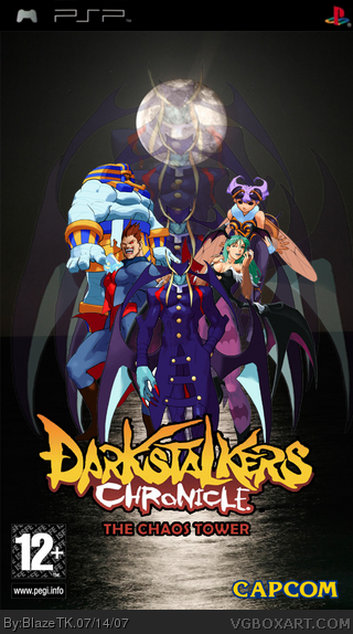 Darkstalkers Chronicle: The Chaos Tower box cover