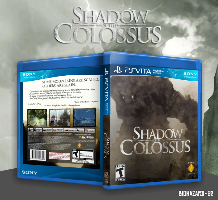 Shadow of the Colossus box art cover