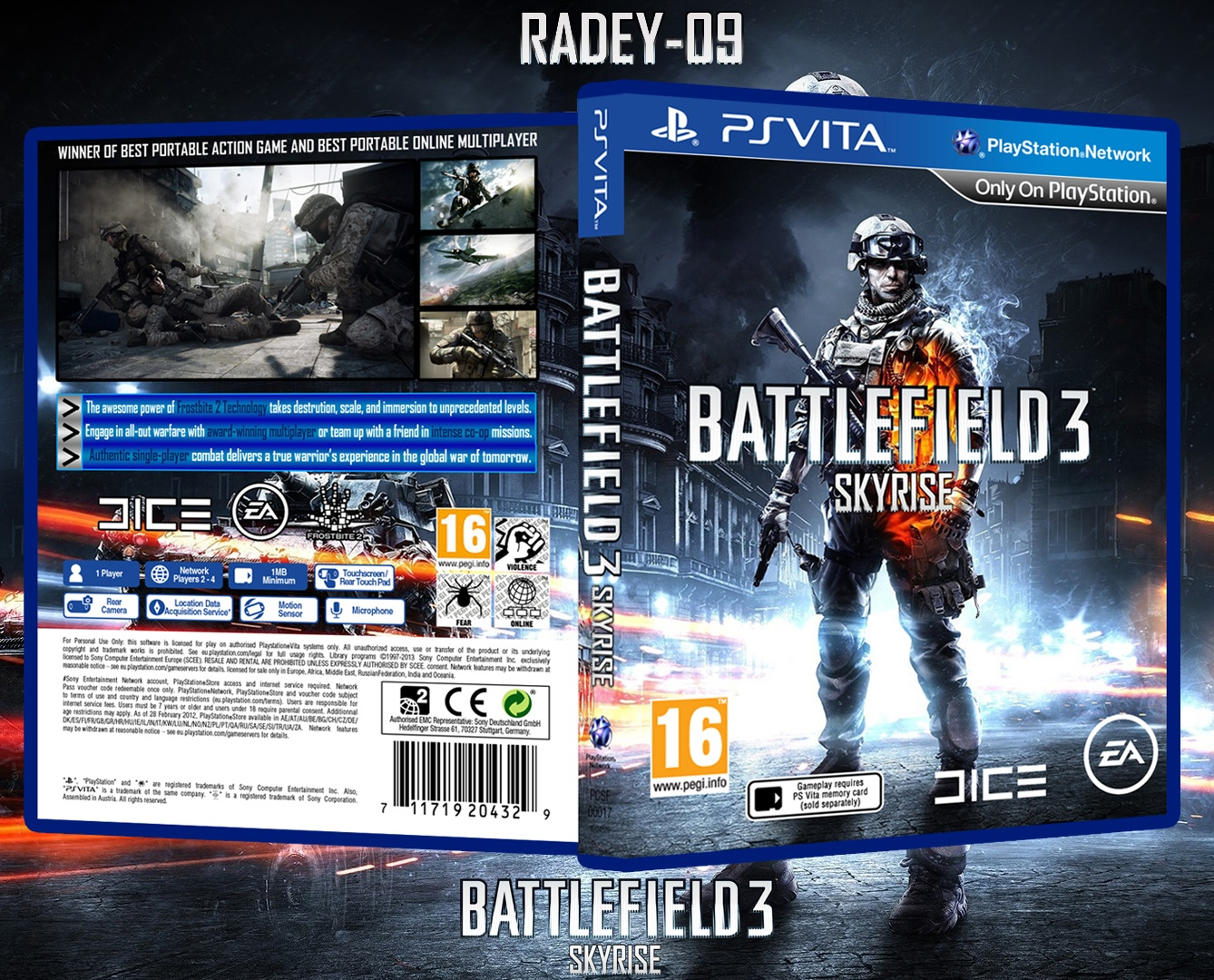 Battlefield 3: Skyrise box cover