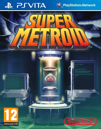 Super Metroid box cover