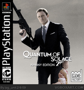 Quantum of Solace box cover