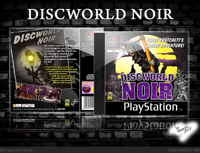 Discworld Noir box art cover