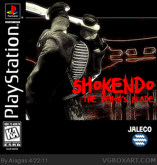 SHOKENDO: THE DEMON'S BLADE box cover