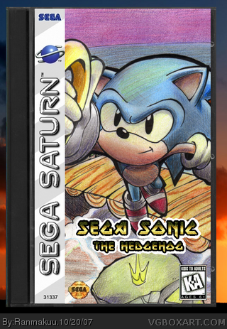 Sega Sonic The Hedgehog box cover