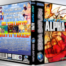Street Fighter Alpha 2 Box Art Cover