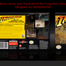 Indiana Jones Box Art Cover