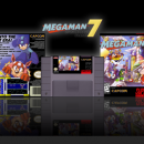 Megaman 7 Box Art Cover