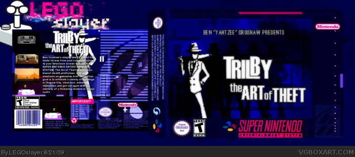 Trilby: The Art of Theft box art cover