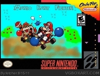 Mario Kart Fighter box cover