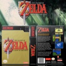 The Legend of Zelda A Link to the Past Box Art Cover