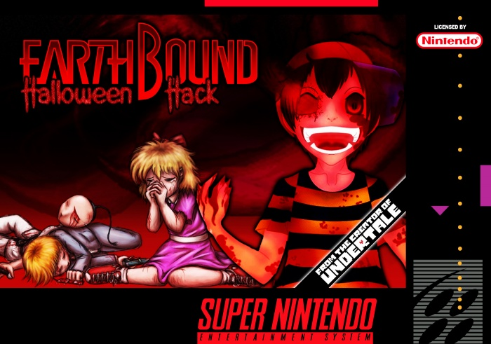 Earthbound: Halloween Hack box art cover