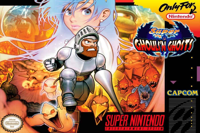 Super Ghouls 'n Ghosts box art cover