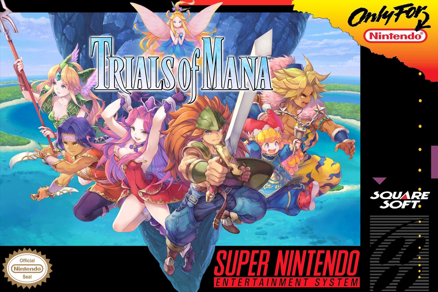 Trials of Mana box cover