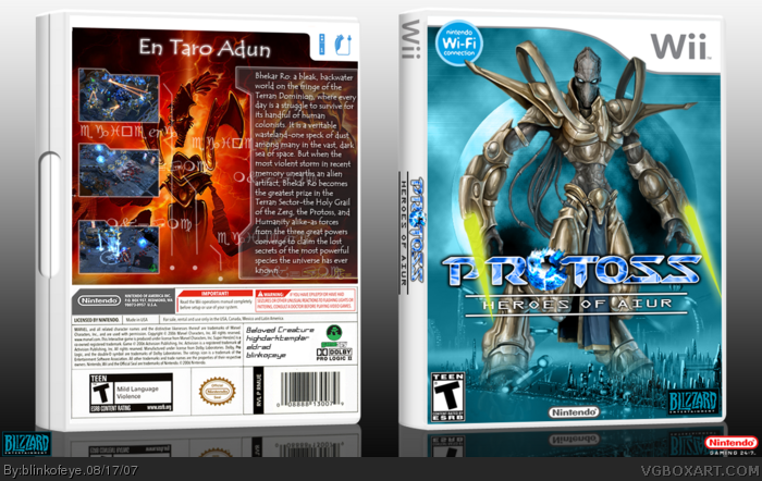 Protoss box art cover