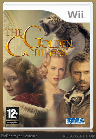 The Golden Compass box cover