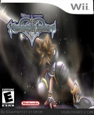Kingdom Hearts Chain of Memories box cover