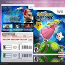 Super Princess Peach Galaxy Box Art Cover