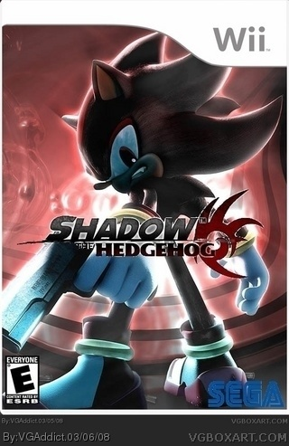 Shadow the Hedgehog box cover