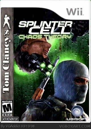 Splinter Cell Chaos Theory box cover
