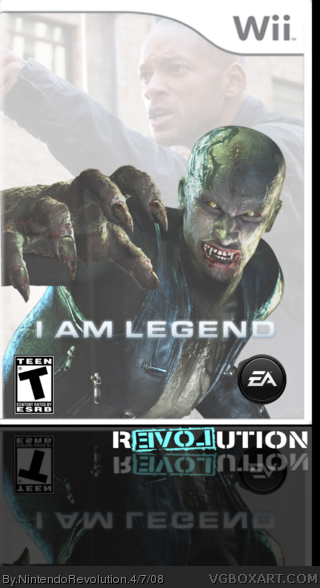 I Am Legend box cover