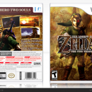 The Legend Of Zelda - The Two Thrones Box Art Cover
