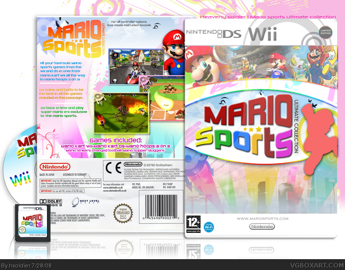 Mario Sports Ultimate Collection box art cover