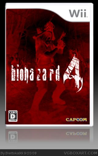Biohazard 4 box cover