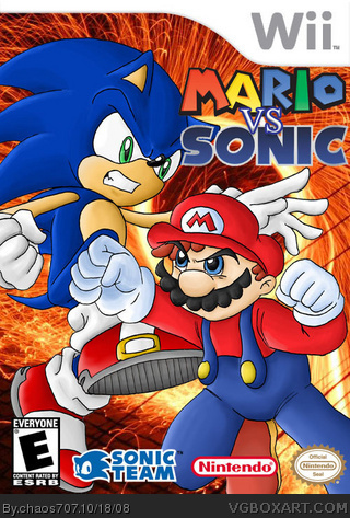 Mario Vs. Sonic box cover