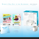 Wario's Bad Day in the Bathroom + Wii Toilet Box Art Cover