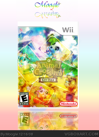Animal Crossing: City Folk box art cover