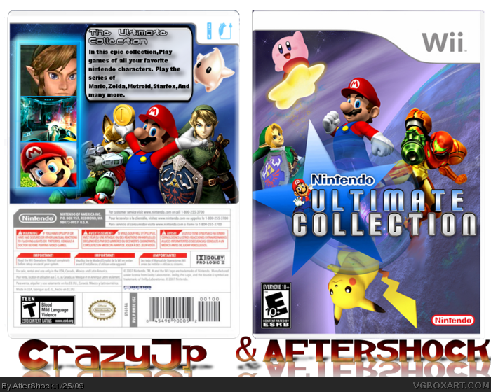 Nintendo Ultimate Collection box art cover