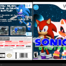 Sonic Online Box Art Cover