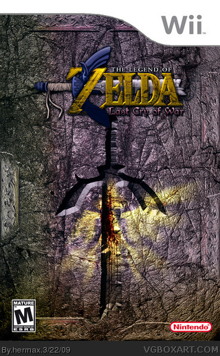 The Legend of Zelda: Last Cry of War box cover