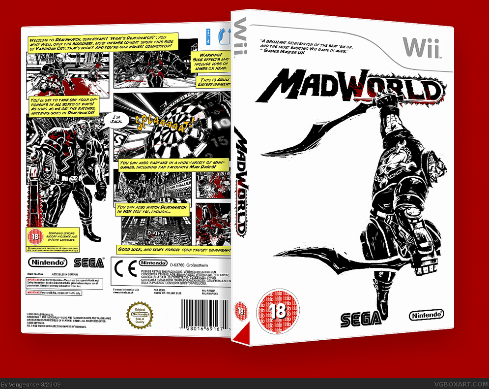 MadWorld box cover